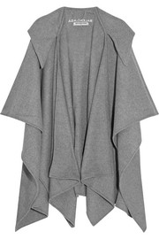 Balenciaga Hooded wool and cashmere-blend poncho