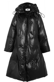 Convertible shell down coat