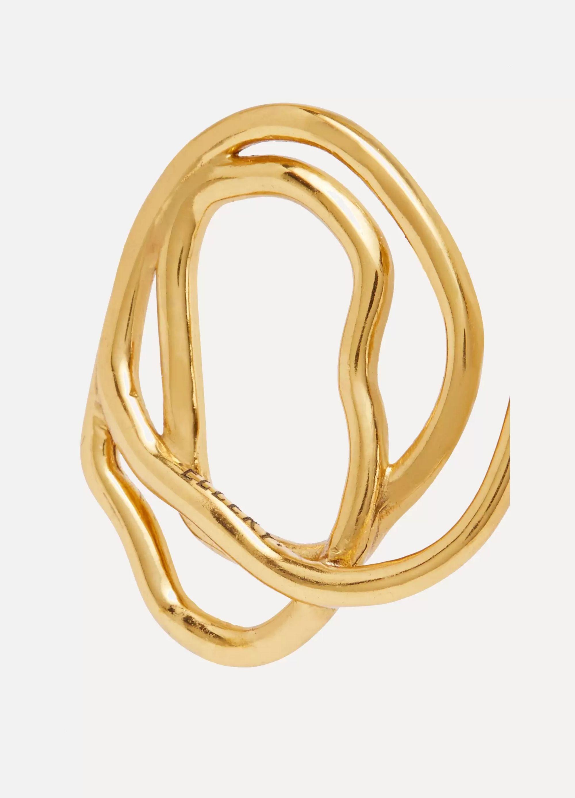 Ellery Forbidden Fruit gold-plated earrings