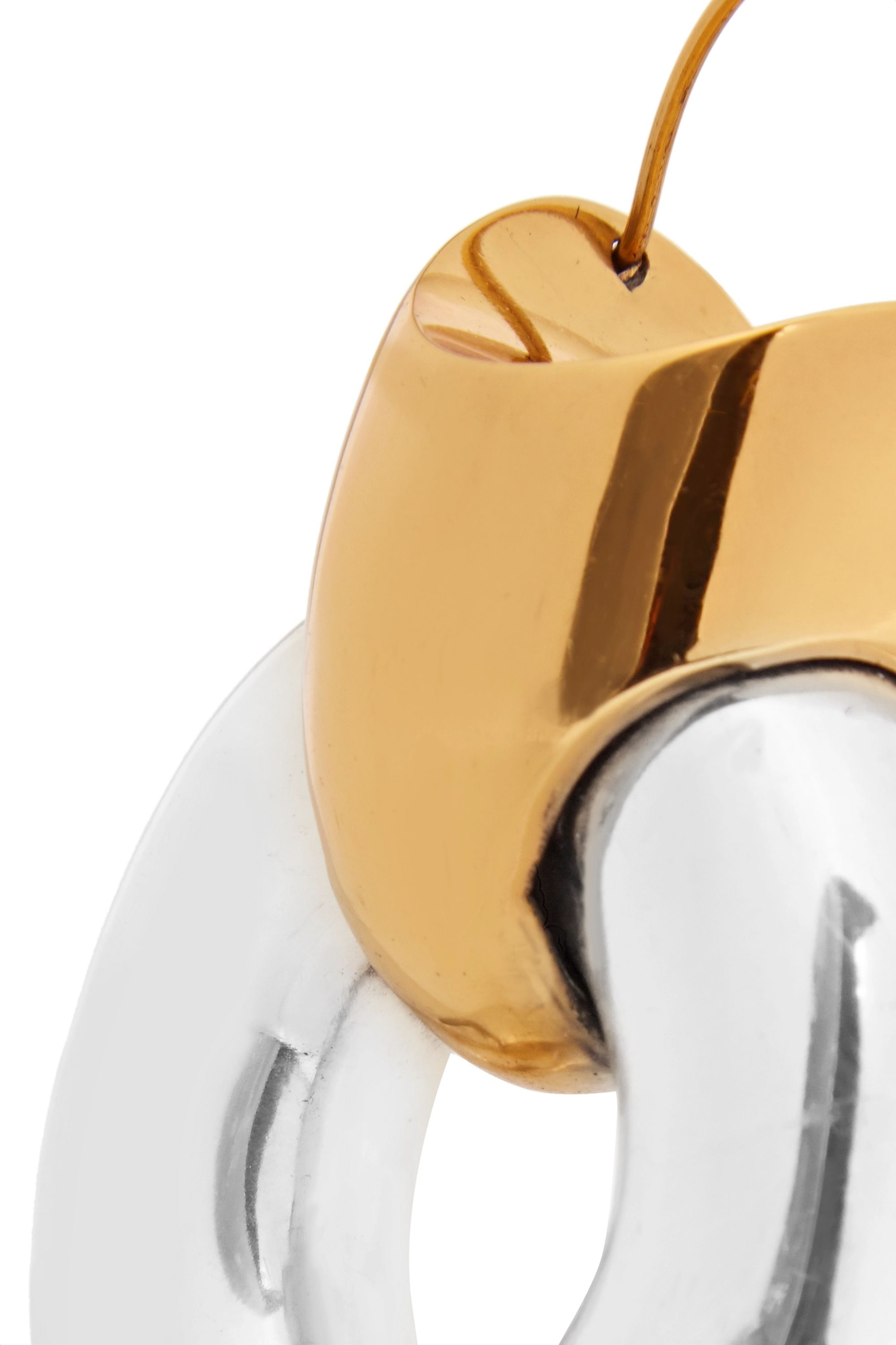 Ellery Hush gold-plated and silver earrings