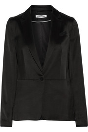 Elizabeth and James Lainey satin blazer