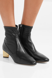 Nicholas Kirkwood Prism leather ankle boots