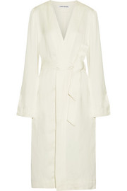 Elizabeth and James Archer belted linen-blend jacket