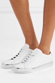 Original Achilles metallic-trimmed leather sneakers