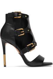 Alienor buckled leather sandals