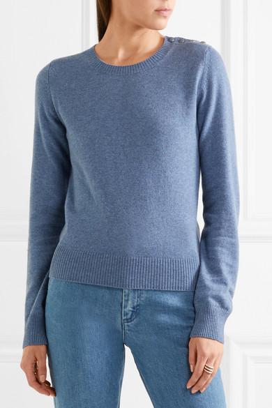 Embellished Cashmere Sweater by Vanessa Seward