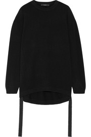 Ellery Pantomine grosgrain-trimmed cashmere sweater