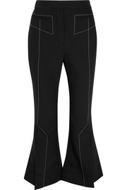 Ellery Align cropped crepe flared pants