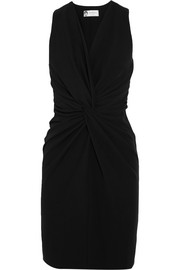 Lanvin Twist-front crepe dress