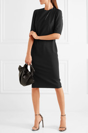 Lanvin Cutout stretch-wool twill dress