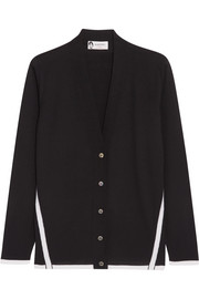 Lanvin Two-tone wool cardigan