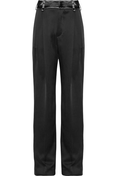 Lanvin Pantalon Large En Soie WQMsz1jImt