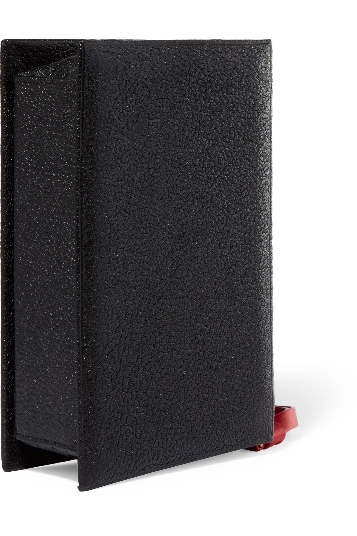 Vetements Ulrich textured-leather clutch