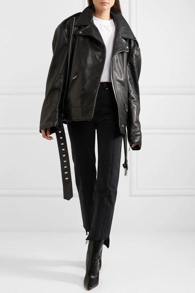 f187b1b81 Vetements   + Schott NYC Perfecto Emo oversized textured-leather ...