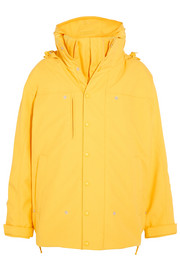 Vetements Angela hooded layered shell jacket