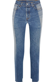 Vetements + Levi's high-rise straight-leg jeans