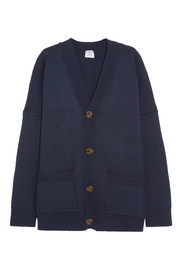 Vetements Oversized wool-blend cardigan