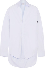 Vetements Oversized cotton shirt