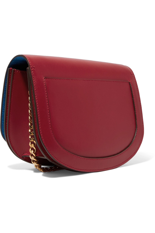 Victoria Beckham Box Chain leather shoulder bag