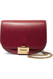 Victoria Beckham Box Chain leather shoulder bag