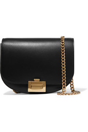 Half Moon Box Chain leather shoulder bag