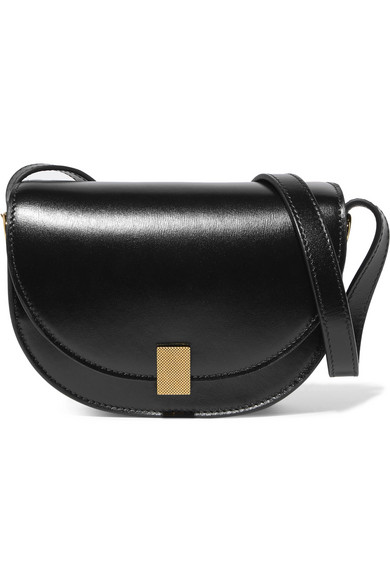 Victoria Beckham Half Moon Box Nano Leather Shoulder Bag Net A Porter Com