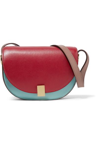17410b10b7d4 Victoria Beckham | Half Moon Box nano leather shoulder bag | NET-A ...