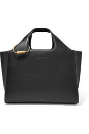 Victoria Beckham Newspaper small leather tote