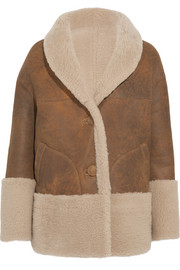 M.i.h Jeans Rainey reversible shearling coat