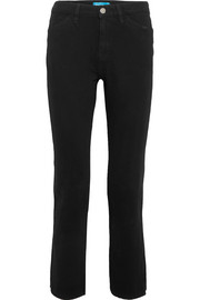 Cult high-rise straight-leg jeans