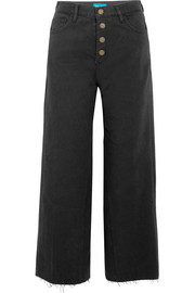 Caron high-rise wide-leg jeans