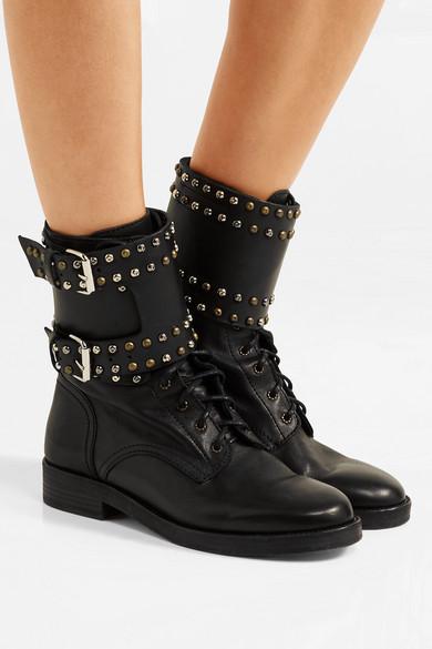 Isabel Marant. Teylon studded leather ankle boots