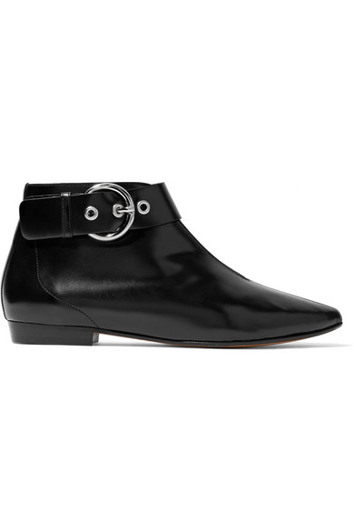 Rilows point-toe leather ankle boots Isabel Marant Discount Popular JL6L01c8Vb