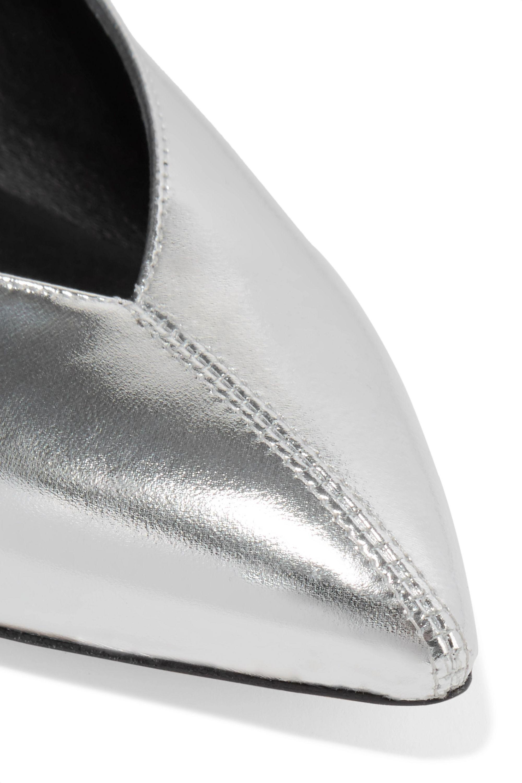 Isabel Marant Poomi metallic leather pumps