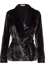 Equipment Odette velvet jacket