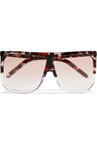 1579ac3a18 Loewe. Filipa D-frame tortoiseshell acetate sunglasses