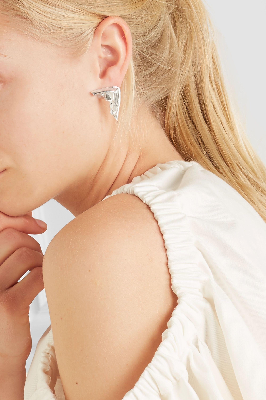 Wwake Closer by Wwake Cape silver earrings