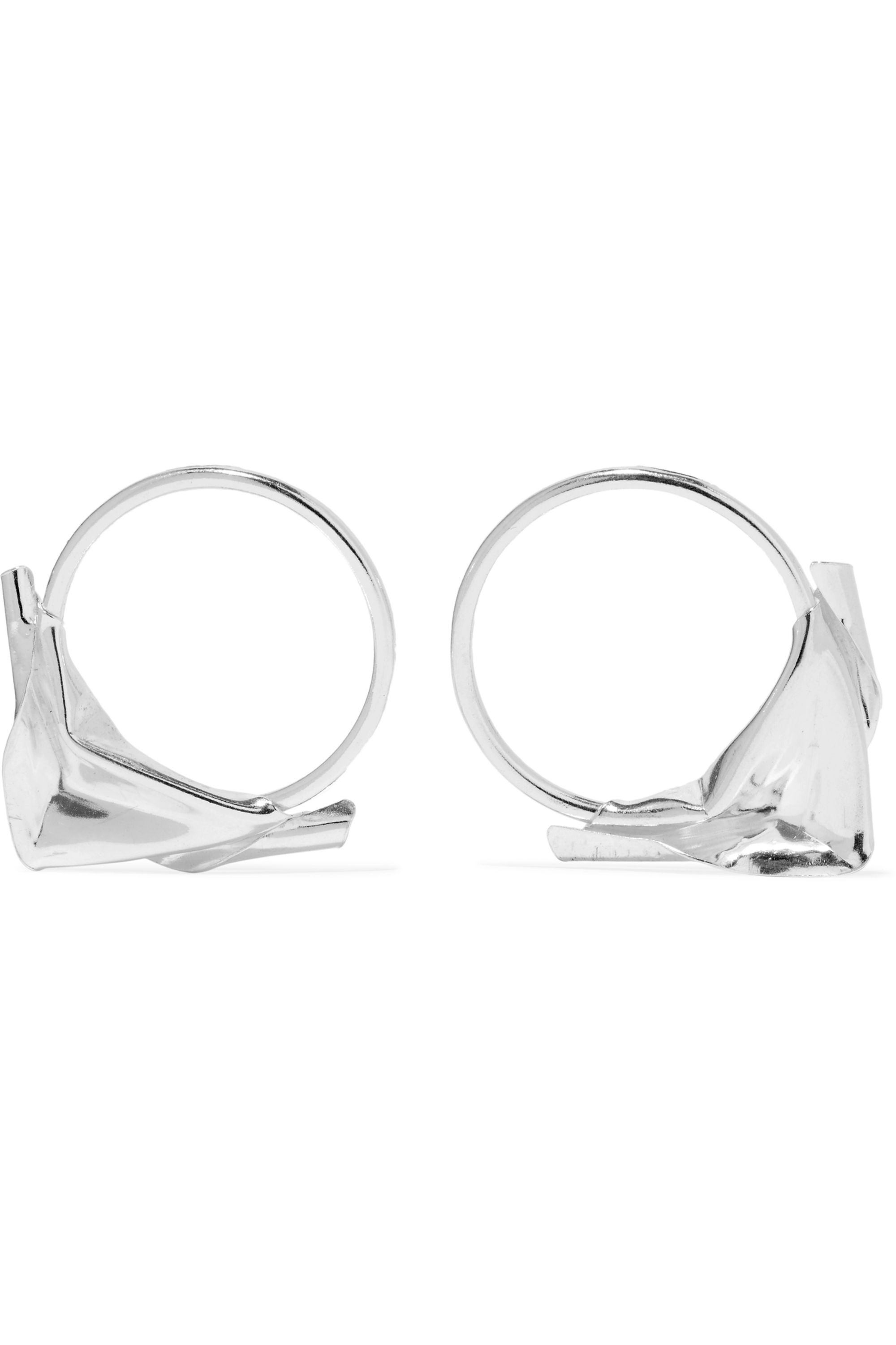 Wwake Closer by Wwake sterling silver earrings