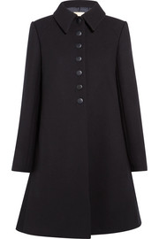 Alaïa Wool-crepe coat