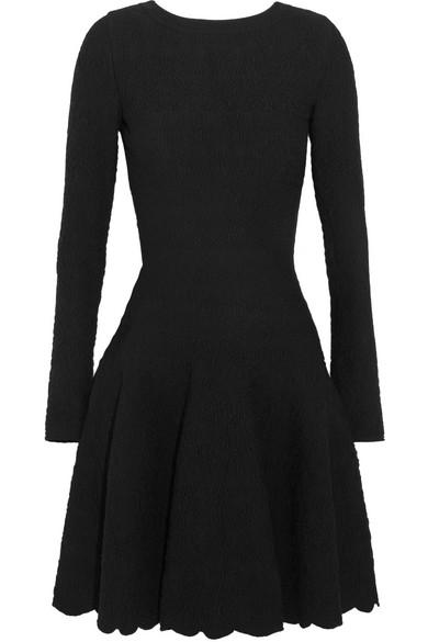 Alaïa Minikleid aus Jacquard-Strick aus einer Wollmischung Bester Ort Billig Verkauf Sast Freies Verschiffen Zahlen Mit Paypal Verkauf In Mode  Online-Verkauf GCCR9yDd