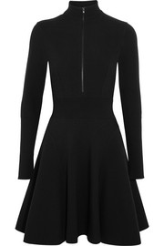 Alaïa Stretch-knit turtleneck mini dress