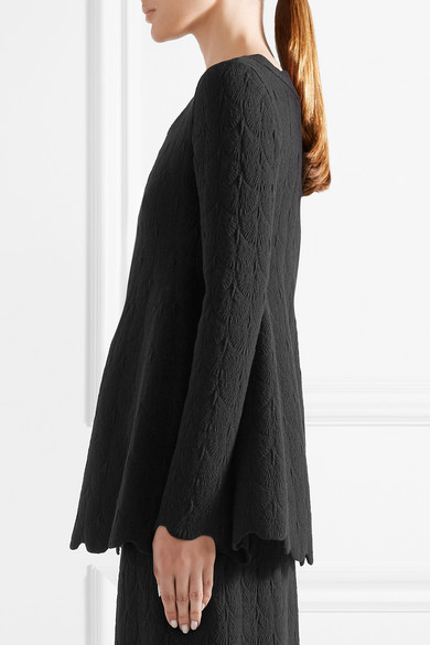 Alaïa Uppers Of Jacquard Knitting Of A Wool Blend With Sidewalls