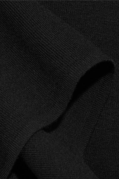 Alaïa Kapuzenpullover aus einer Wollmischung Billig 2018 Neueste Spielraum Gut Verkaufen Modisch Footlocker Kaufen Neueste KhIqOs