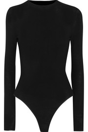 Alaïa Fine-knit wool bodysuit