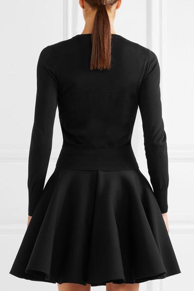 Alaïa Twinset aus aus Wolle