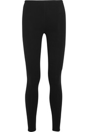Wool-blend leggings