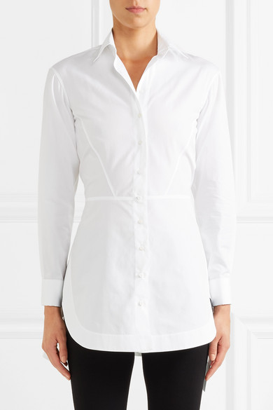 Alaïa Hemd aus Baumwollpopeline
