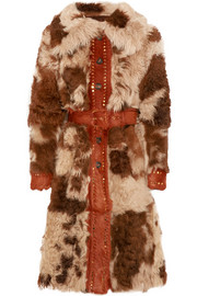 Prada Studded shearling coat