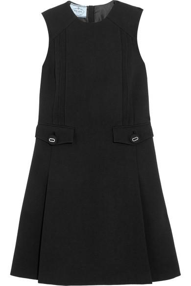 Prada - Wool Dress - Black