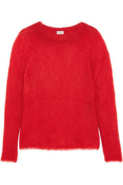 Saint Laurent Mohair-blend sweater